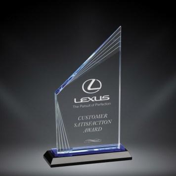 Fusion Peaker Optic Crystal Award