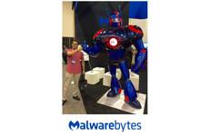Malwarebytes robot character