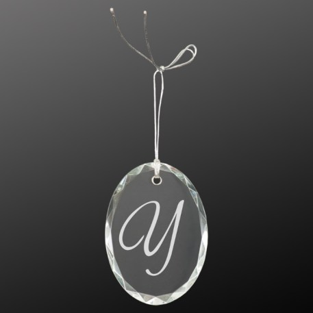 Oval Christmas Ornament