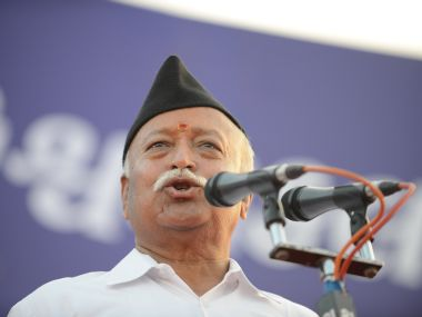 Mohan Bhagwat. AFP file image