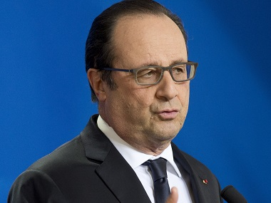 French President Francois Hollande. AFP
