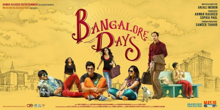 Poster for Bangalore Days