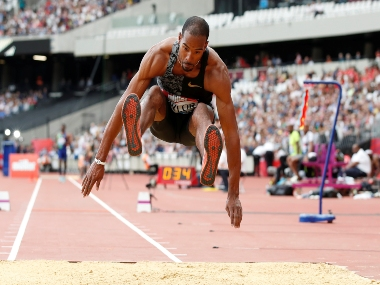 American triplejumper Christian Taylor aims to play safe wont go for medal at US championships and world trials in Iowa