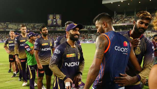 will be keen to bounce back while KKR would look for a perfect beginning as it will be a battle between big hitters on both sides on a sluggish Abu Dhabi track. Sportzpics