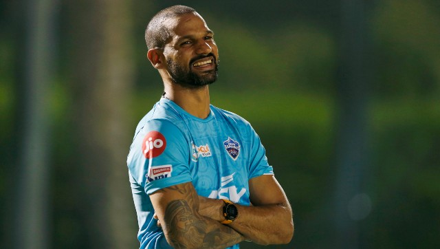 Shikhar Dhawan was the highest run-scorer for Delhi Capitals last season with 521 runs. Image: Twitter/@DelhiCapitals