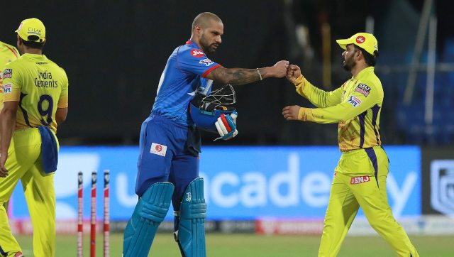 Shikhar Dhawan slammed 101 off 58 as DC defeated CSK by five wickets. Image: Sportzpics for BCCI