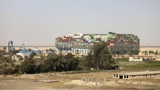 Stuck Suez Canal ship brings quiet neighbouring village into the spotlight amid global media attention
