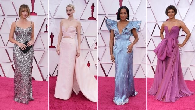Oscars 2021 How the event achieved its Inspirational x Aspirational dress code with reds metallics political statements