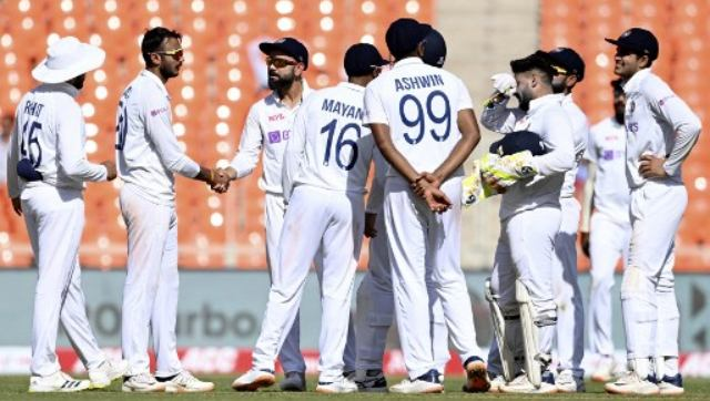 The Indian cricket team. AFP