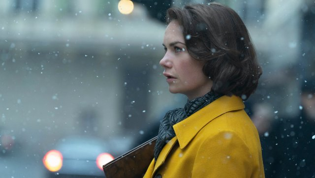 Oslo movie review Ruth Wilson Andrew Scotts drama is a timely but intrinsically partial account of history