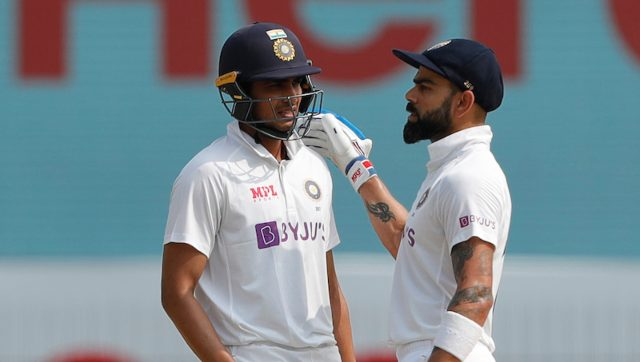 Shubman Gil (L) and Virat Kohli while playing for India. Image: Sportzpics for BCCI