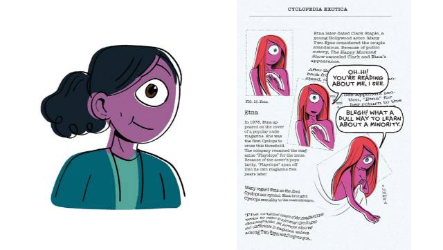 In her new graphic novel Cyclopedia Exotica Aminder Dhaliwal examines AntiAsian hate