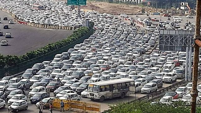 Bharat Bandh Roads blocked across Haryana Uttar Pradesh and Delhi as farmers stage protest