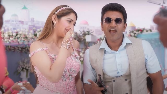Yuvarathnaa movie review Puneeth Rajkumar film on Amazon Prime Video promises a lot delivers very little
