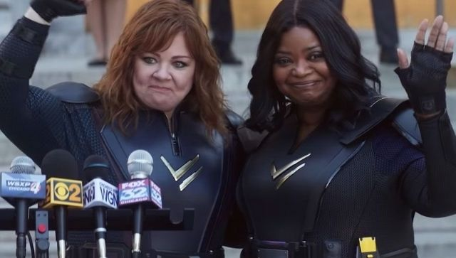 Thunder Force movie review Melissa McCarthy Octavia Spencers Netflix film is neither unapologetically silly nor clever