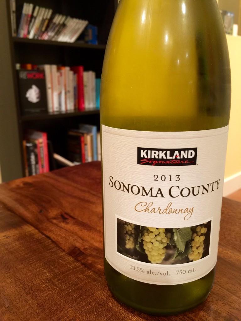 Kirkland Sonoma County Chardonnay 2013 First Pour Wine
