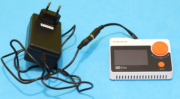 HobbyMate D6 Elite review: XT60 to DC cable