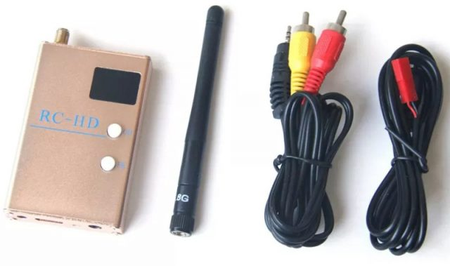 RC832HD accessories