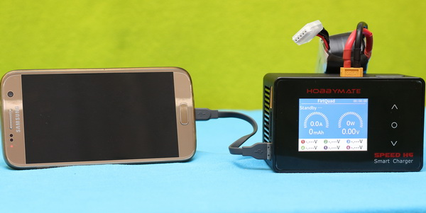 HOBBYMATE Speed H6 charger review: Phone charging
