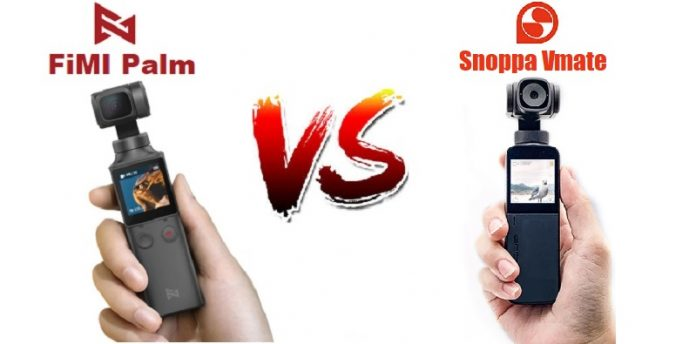 Xiaomi FiMI Palm vs Snoppa Vmate