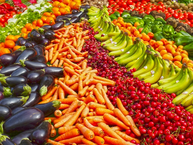 Fruit and vegetables image