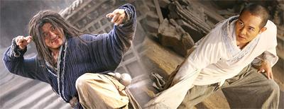 Jackie Chan and Jet Li in Forbidden Kingdom