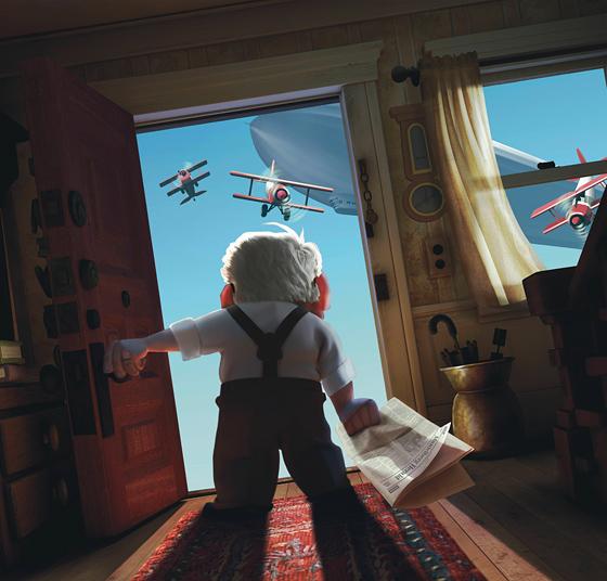 Pixars upcoming movie, Up
