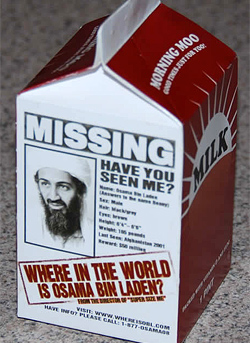 Image result for where is osama