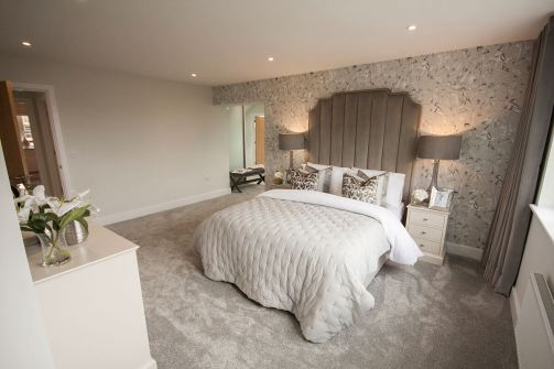 Lydgate Master bedroom