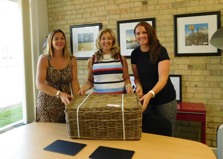 Fundraising for Garden House Hospice in letchworth