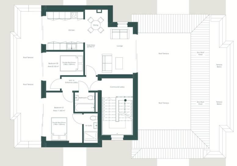 Plot 14 Linea Floorplan
