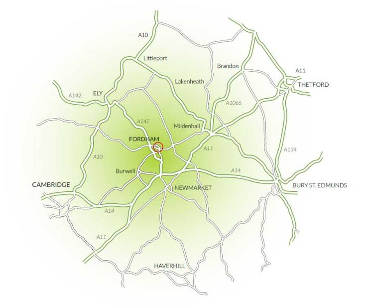 Fordham Map