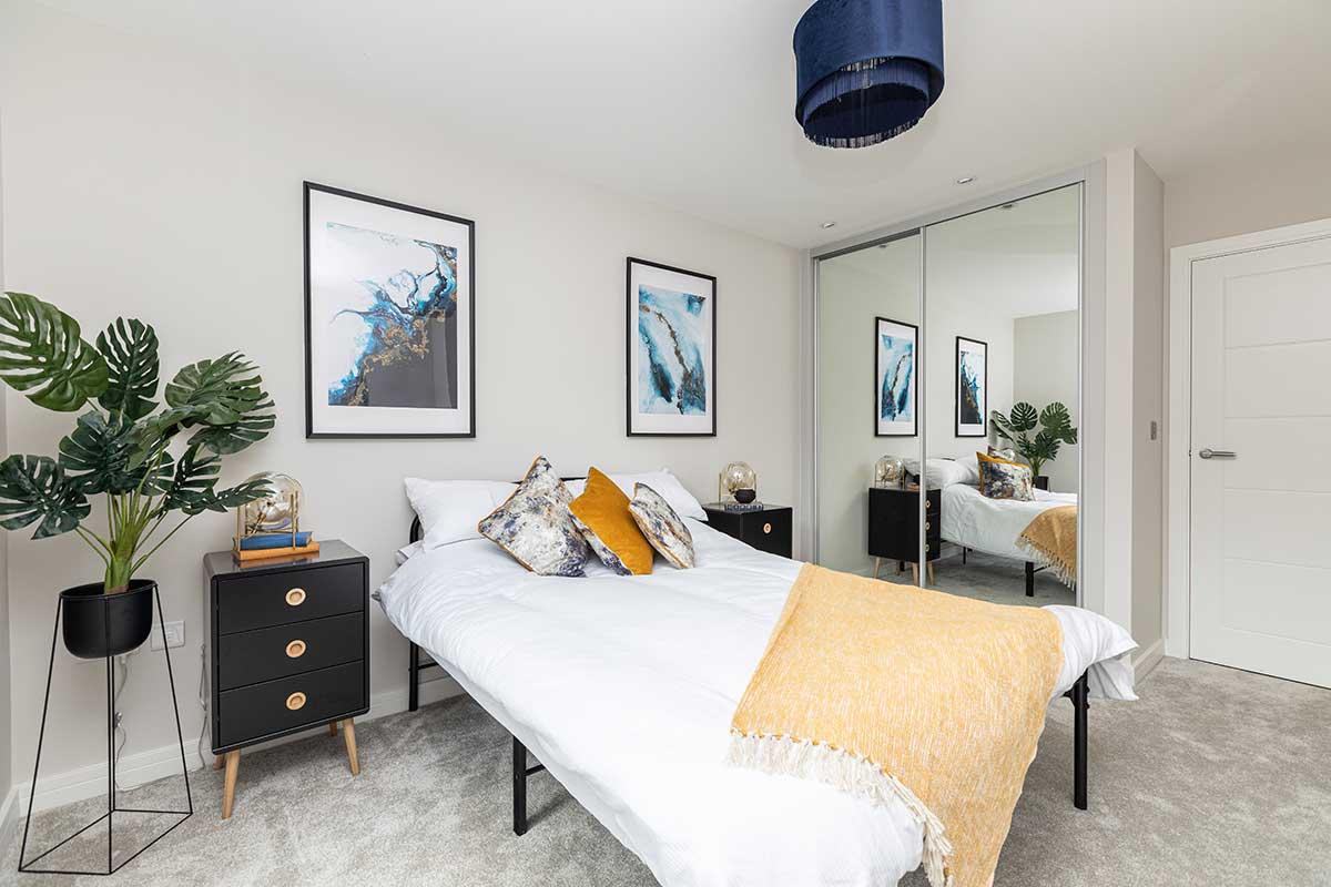 Plot 2 Astoria House Bedroom