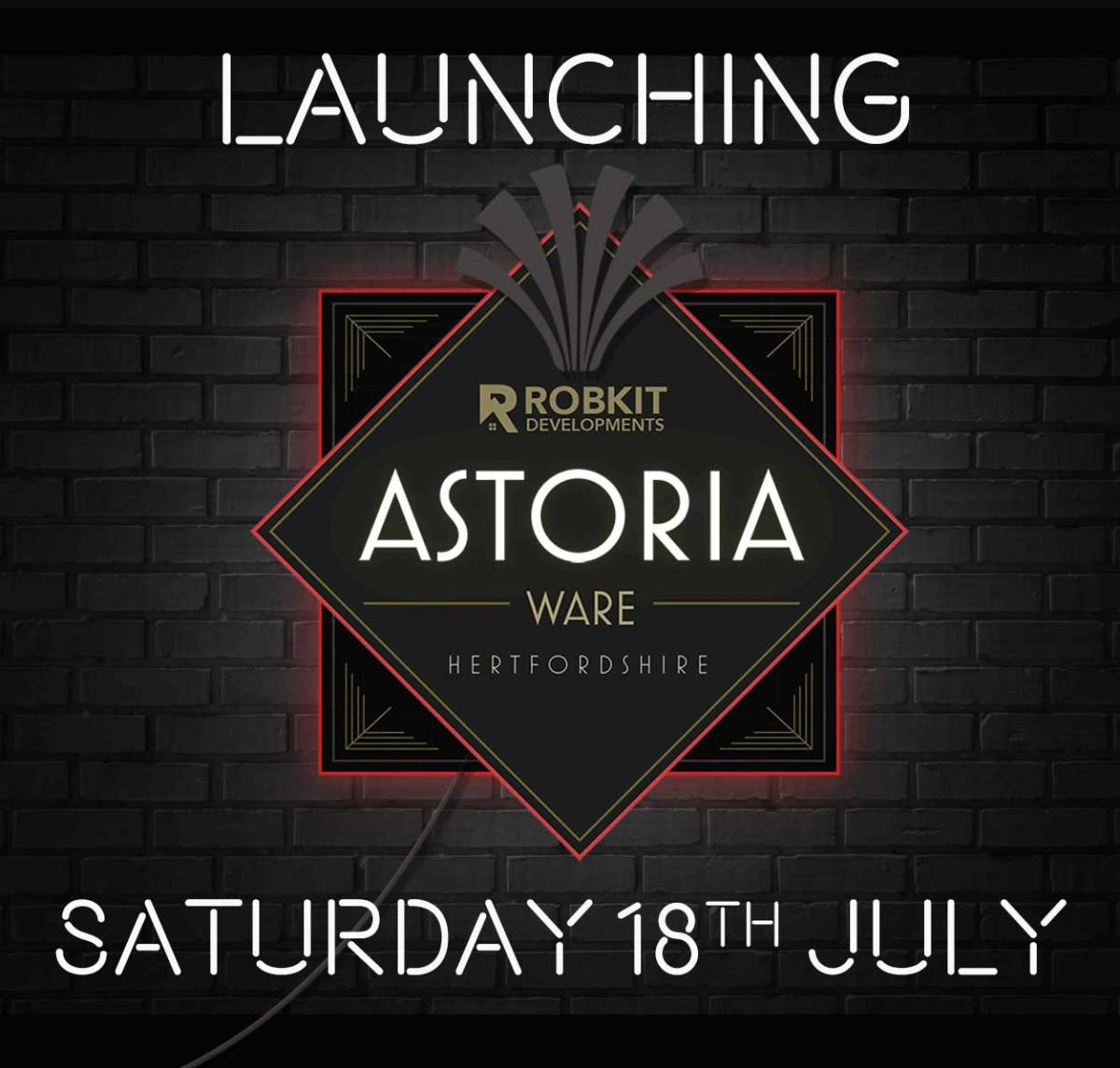 launching saturday 18th July