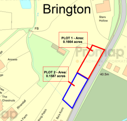 Self Build Brington - Plot info