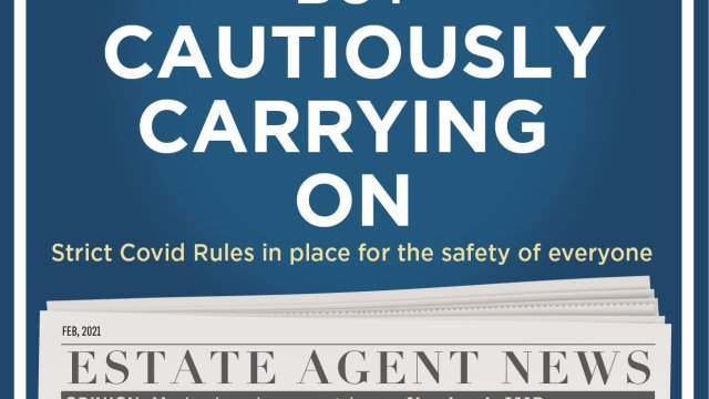 Staying safe advert