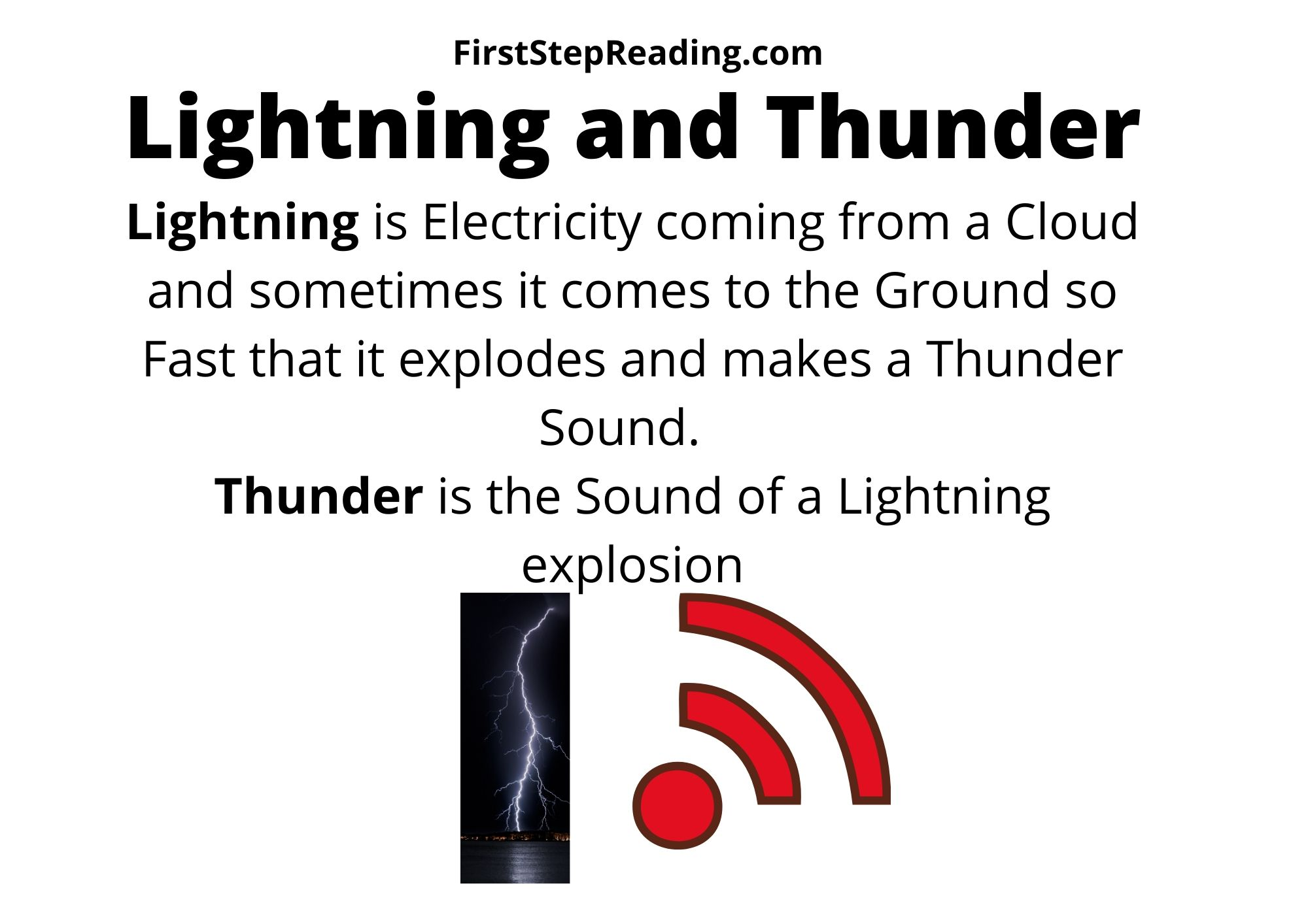 Lightning And Thunder