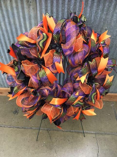 Class Make Your Own One Of A Kind Fall Wreath First