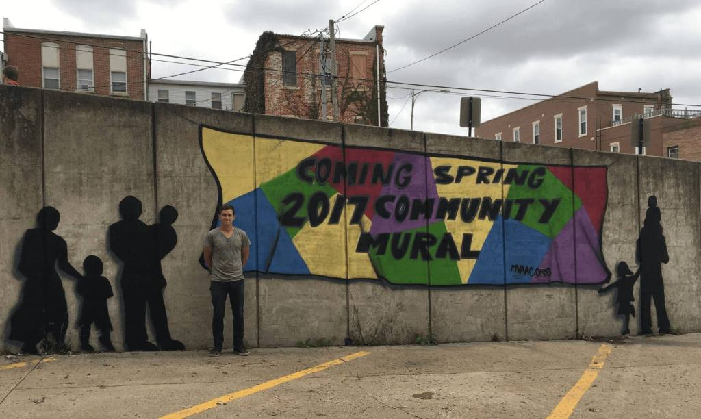 picture of the MVAAC Community Mural