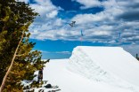 Eric Willett trains this month at Mammoth Mountain in California. (photo: Mammoth Mountain)