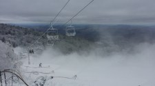 Killington's snowmakers got into the act overnight at the resort in central Vermont (photo: Killington Resort)