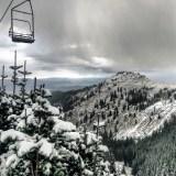 Park City Mountain Resort's Jupiter chairlift on Thursday. (photo: Matt Baydala)
