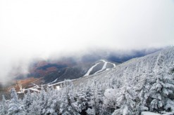 """5"""" new snow at the summit of Whiteface Mt., NY (photo: Whiteface Mountain)"""