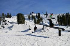 Boreal Mountain is also open in California, near Truckee. (photo: Boreal Mountain)
