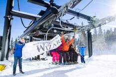 Mt. Rose Ski Tahoe, above Reno, inaugurated its relocated Wizard chairlift on Friday. (photo: Mt. Rose Ski Tahoe)