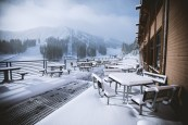 It sure looked like winter today at Mt. Rose Ski Tahoe. (photo: Mt. Rose Ski Tahoe)
