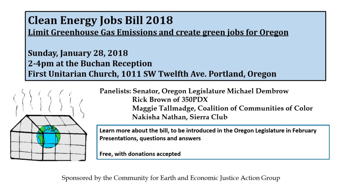 Clean Energy Jobs Bill Event