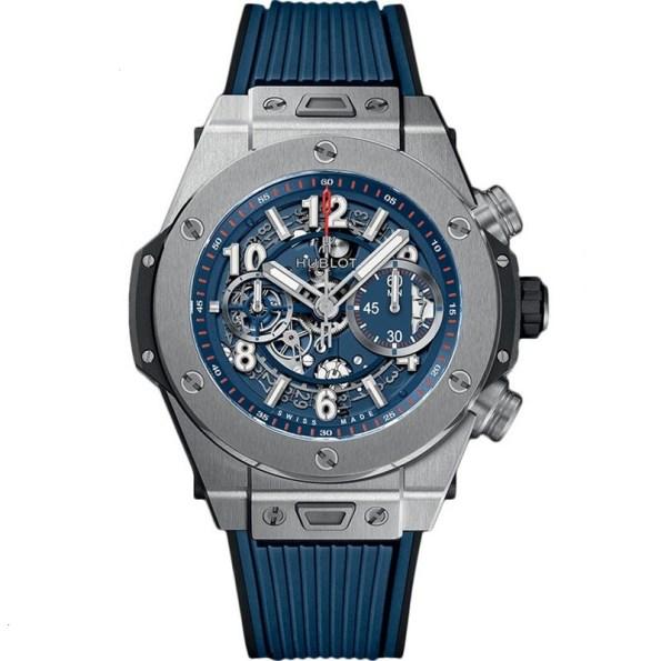 replica Hublot Big Bang Unico Titanium Blue 441.NX.5179.RX watch
