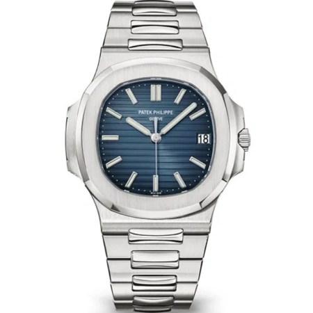 Replica Patek Philippe Nautilus Blue 5711/1A-010 - Patek Philippe Clone Watches