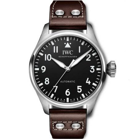 Replica IWC Big Pilot's 43mm Black Dial IW329301 - IWC Clone Watches